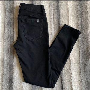 Joes Jeans black skinny jeans size 25